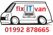 Fix IT Van Tel: 01992 878665